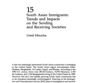 South Asian Immigrants